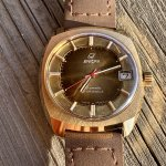 NOS Enicar Star Jewels Date Automatic